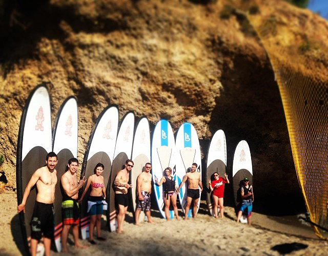 Travesias de Paddle-surf por Nerja y Maro